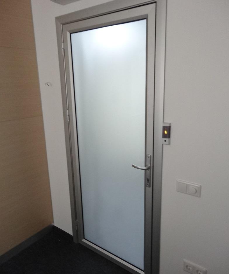 Двери в телескопической коробке